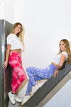 TIE DYE SUPER STRETCH ACTIVEWEAR/YOGA PANTS