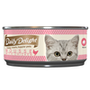 Daily Delight Canned Wet Food For Cats 80g (Mousse Range)