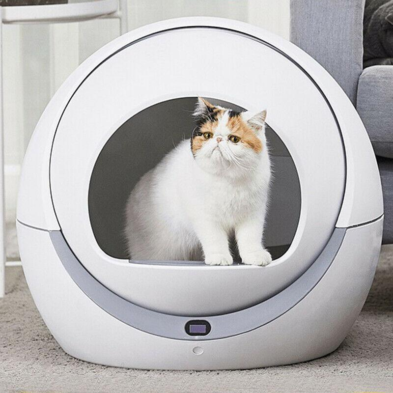 PETREE Automatic Cat Litter Box 2.0 Improved Version