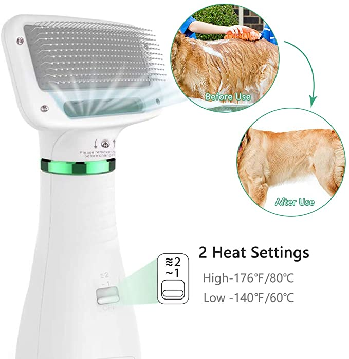 SMARTPAW Lite Pet Grooming Fur/Hair Dryer Blower