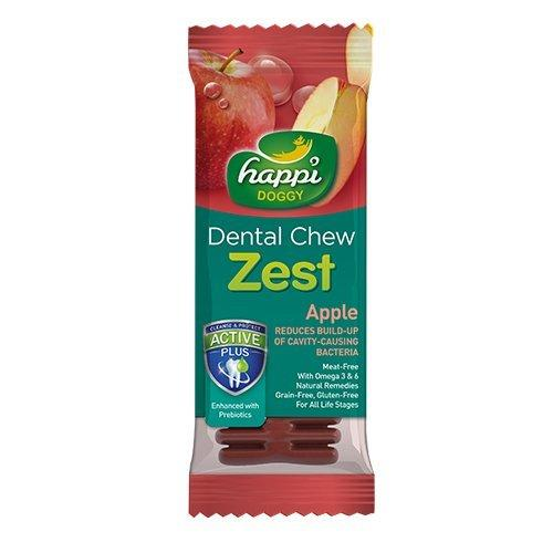 Happi Doggy Dental Chew Zest 1 Piece (Regular 4