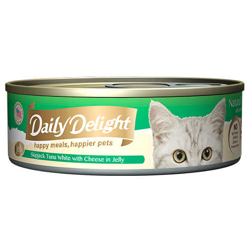 Daily Delight Canned Wet Food For Cats 80g (Jelly Range)