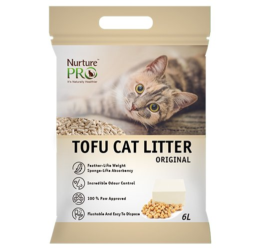 Nurture Pro Tofu Cat Litter ( Original : 6L )