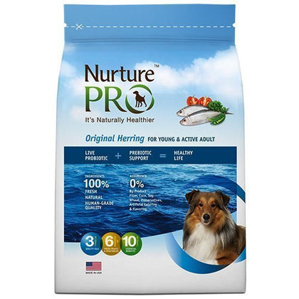 Nurture Pro Original Herring For Young and Adult Dry Dog Food Eagle Pro Small 4lb (1.8kg)