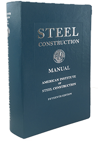 AISC 325-17 Steel Construction Manual, Fifteenth Edition