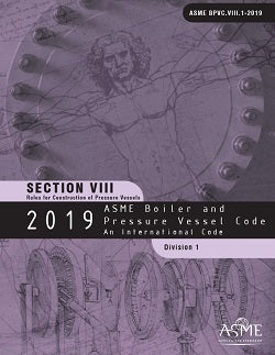 Load image into Gallery viewer, ASME BPVC.VIII.1-2019 2019 ASME Boiler and Pressure Vessel Code, Section VIII, Division 1: Rules for Construction of Pressure Vessels