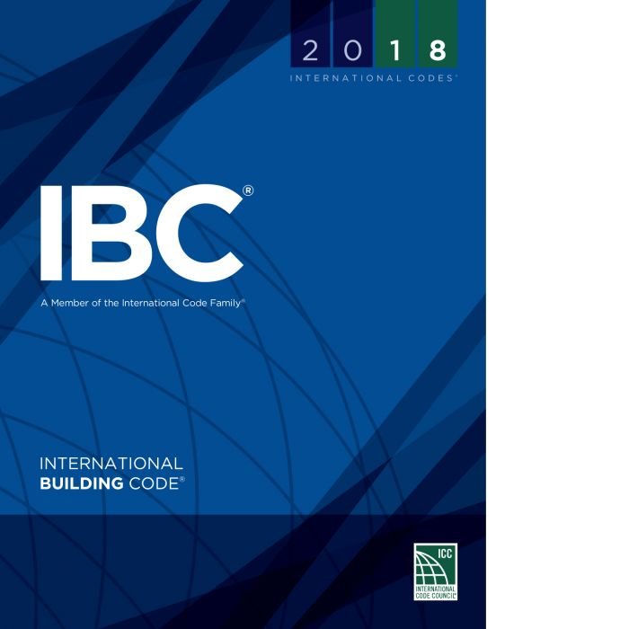2018 International Building Code (IBC) Soft Cover