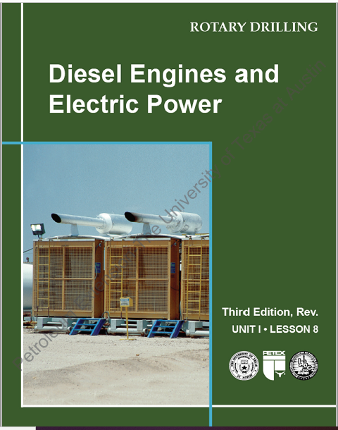 Diesel Engines and Electric Power, 3rd Ed., Revised