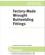 [Historical Edition] ASME B16.9-2012 Factory-Made Wrought Buttwelding Fittings