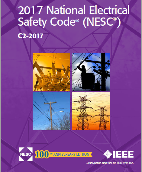 IEEE C2-2017 2017 National Electrical Safety Code (NESC)(R)