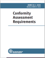 ASME CA-1-2020 Conformity Assessment Requirements