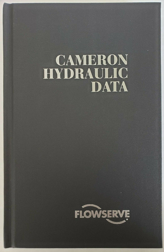 Cameron Hydraulic Data by Flowserve
