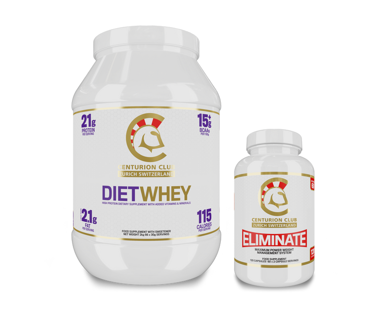 Diet Whey Protein & Eliminate Fat Burner