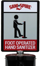 Load image into Gallery viewer, Hand Sanitizer Sign w/ Frame