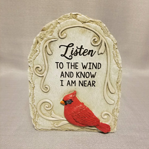 Listen to the Wind Cardinal Stone