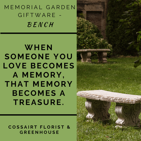 Memorial Garden Bench - When Someone You Love