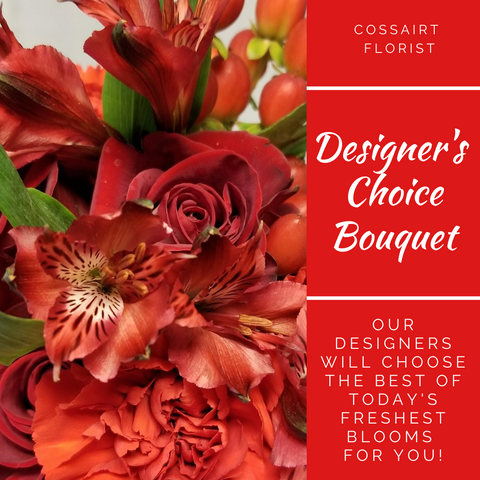 Designer's Choice Bouquet - Red
