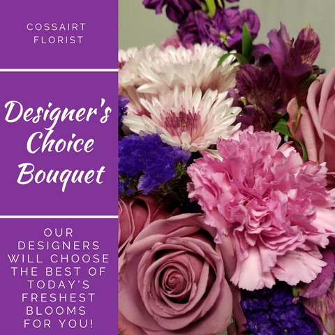 Designer's Choice Bouquet - Purple