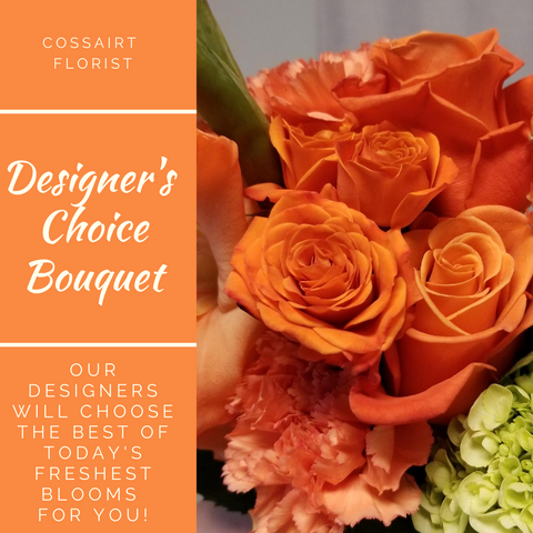 Designer's Choice Bouquet - Orange
