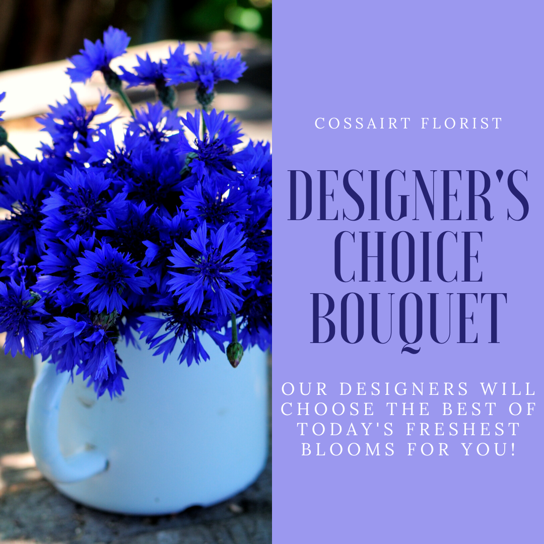 Designer's Choice Bouquet - New Baby Boy