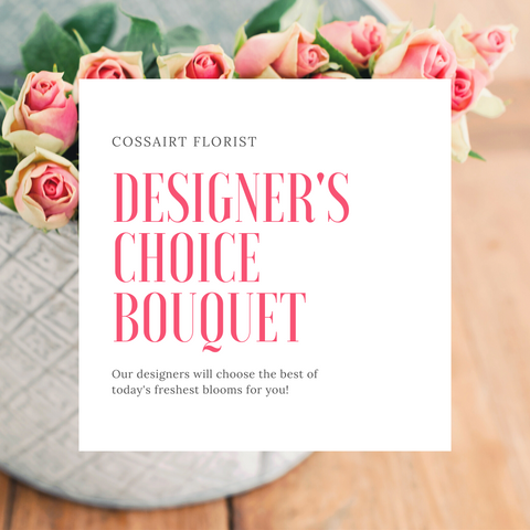 Designer's Choice Bouquet - New Baby Girl