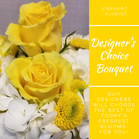 Designer's Choice Bouquet - Yellow