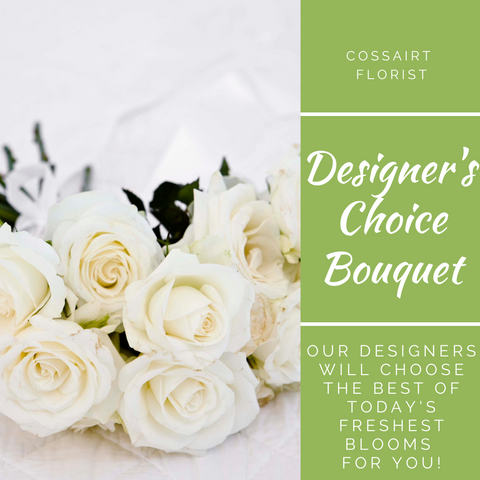 Designer's Choice Bouquet - White