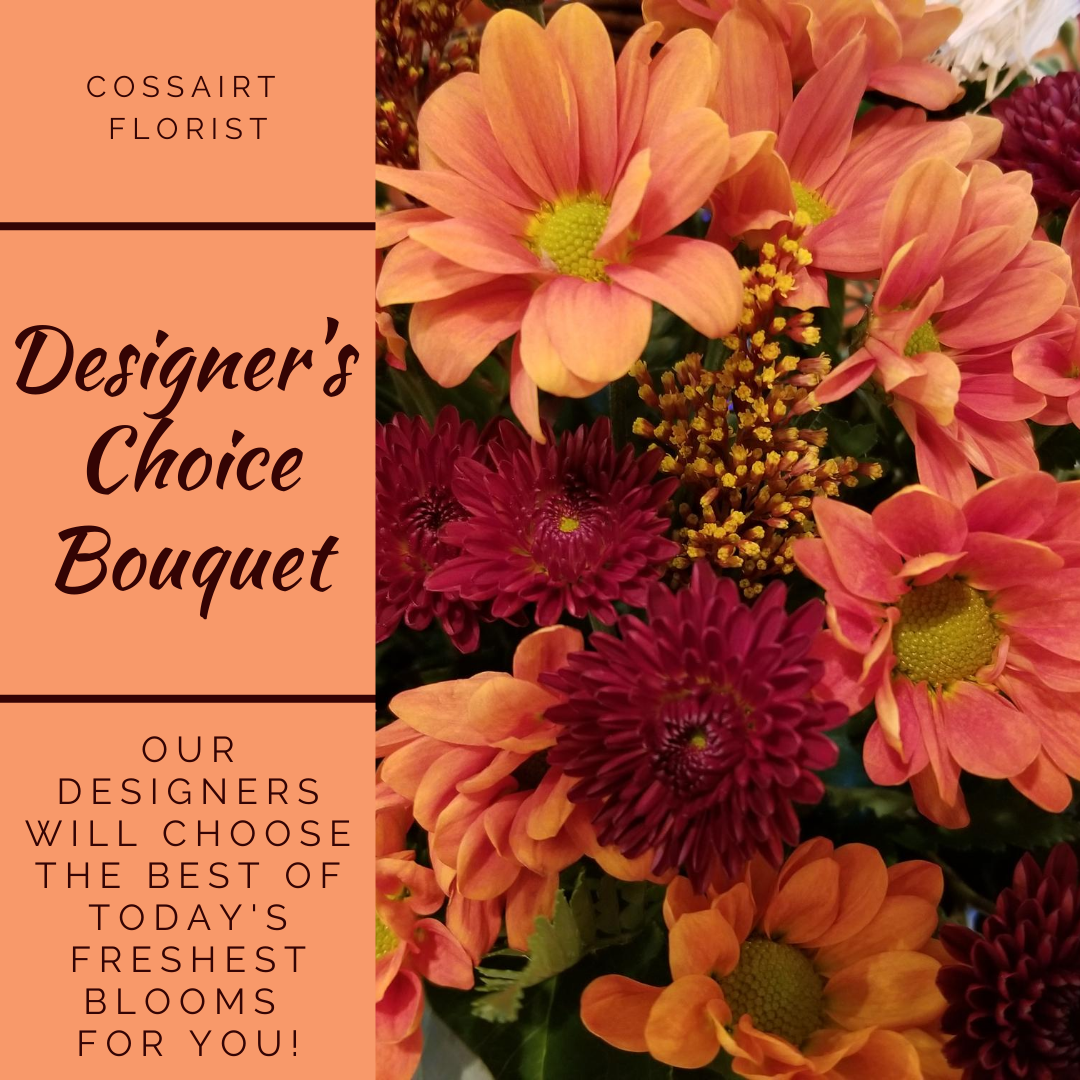 Designer's Choice Bouquet - Fall Mix
