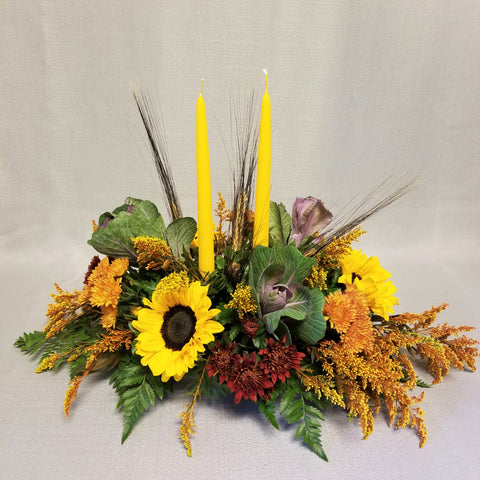 Golden Harvest Centerpiece