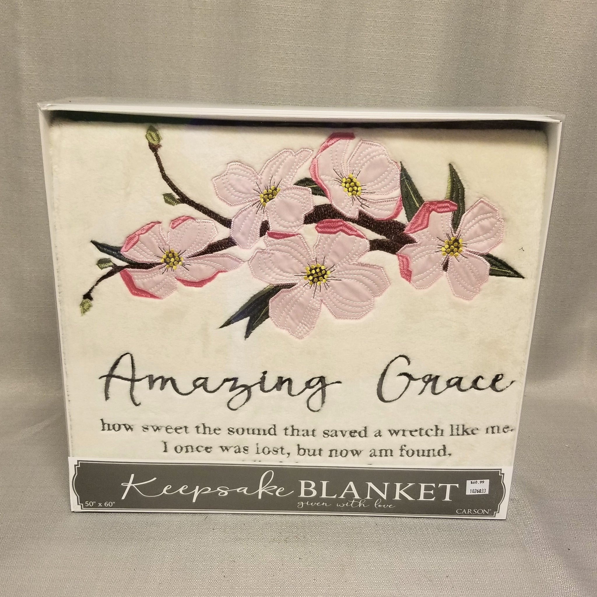 Keepsake Blanket - Amazing Grace