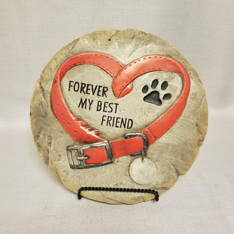 Pet Memorial Stepping Stone - Forever my Best Friend