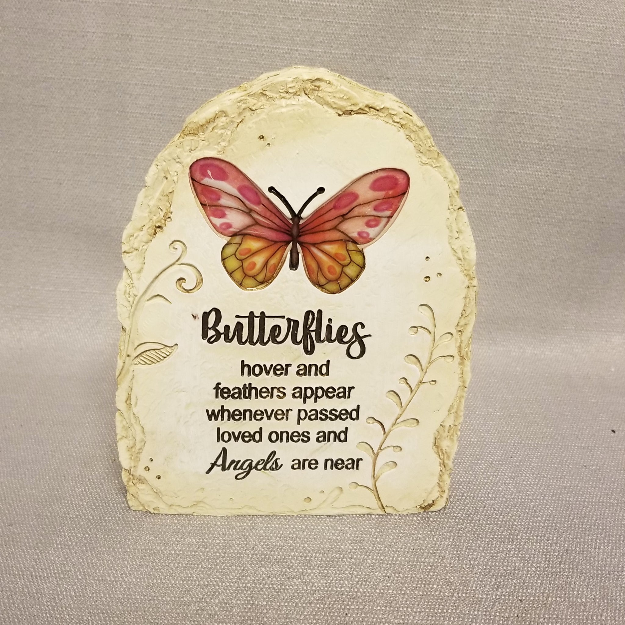 Butterflies Hover Butterfly Stone
