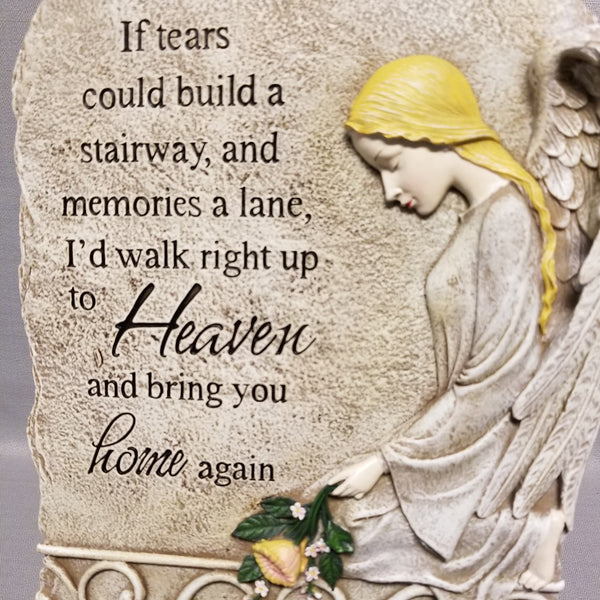 If Tears Could Build a Stairway Plaque