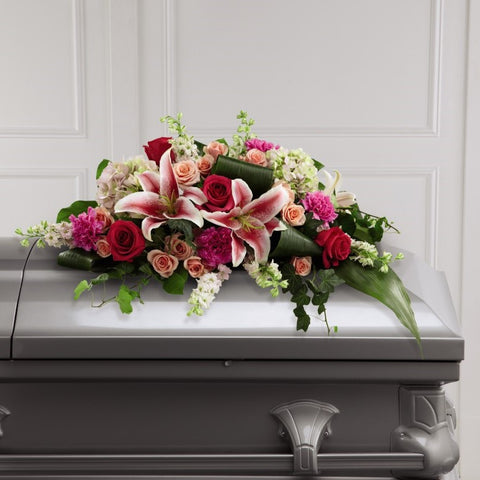 FTD Splendid Grace Casket Spray