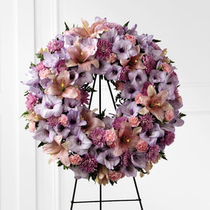 FTD Sleep in Peace Wreath