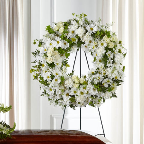 FTD Faithful Wishes Wreath