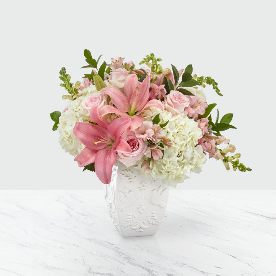 FTD Peace and Hope Pink Bouquet