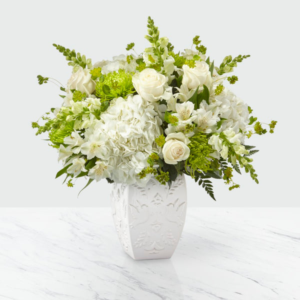FTD Peace and Hope Green Bouquet