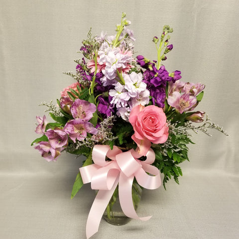 Hint of Pink Bouquet