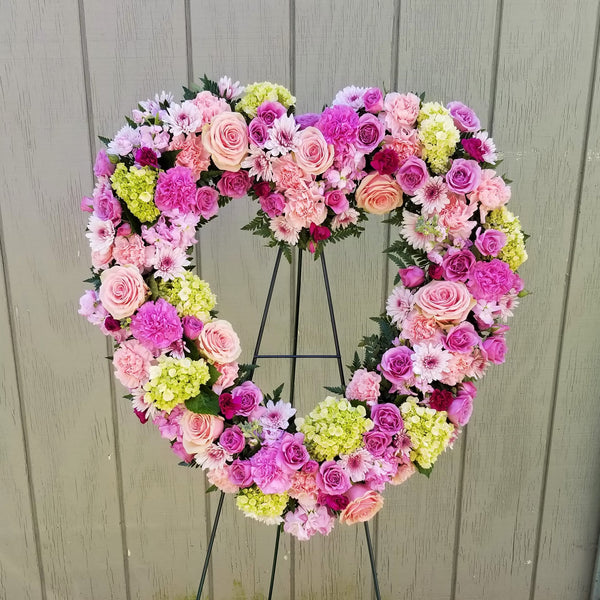 Truly Cherished Heart Wreath