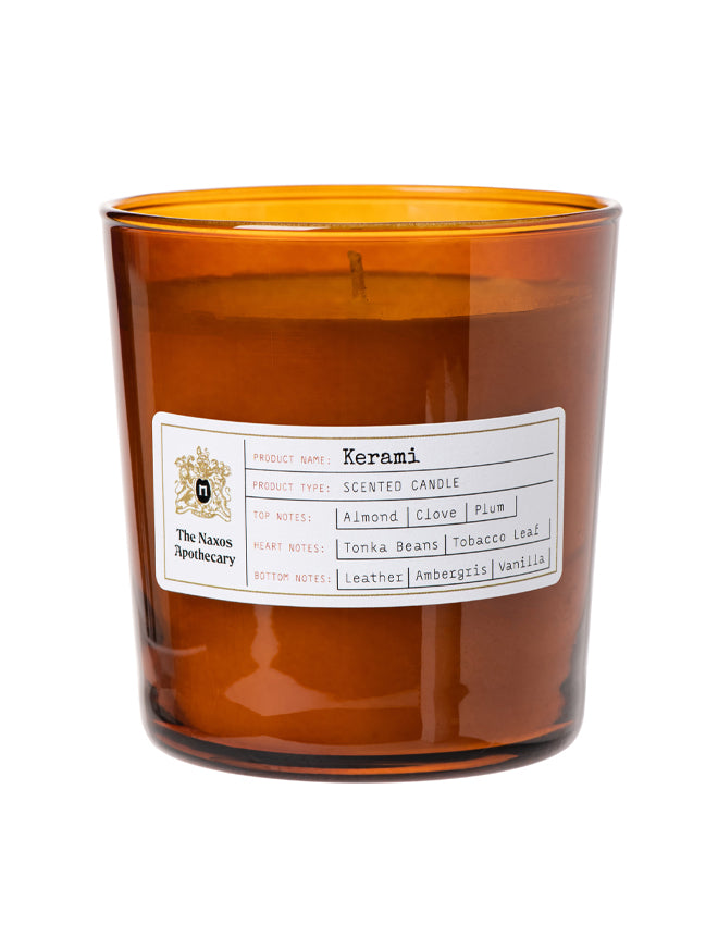 Kerami Scented Candle by The Naxos Apothecary