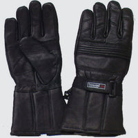 GENUINE LEATHER BIKER'S AND ALL-PURPOSE GLOVES - 2155