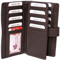 Genuine Leather Lambskin RFID Coat Card Wallet - 4116-L