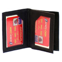 Genuine Leather Lambskin Card Wallet - 4198