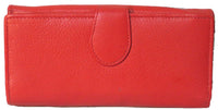 Genuine Cowhide Leather Ladies RFID Wallet - 7503R