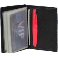 Genuine Leather Lambskin Card Wallet with 24 Leaves- 8013