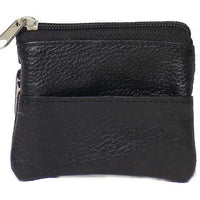 Genuine Leather Change Purse - 8017-C