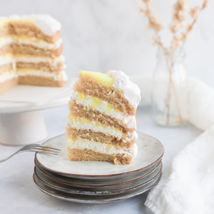 Load image into Gallery viewer, Lemon-Coconut Layer Cake