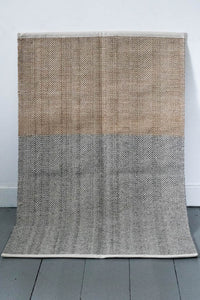 Natural Grey and Lichen Block Mat