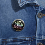 Apothecary Raree Pin Buttons